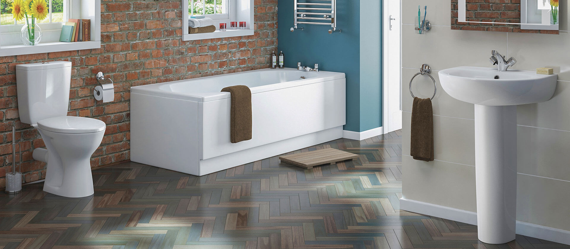 Laminated Wooden Tiles